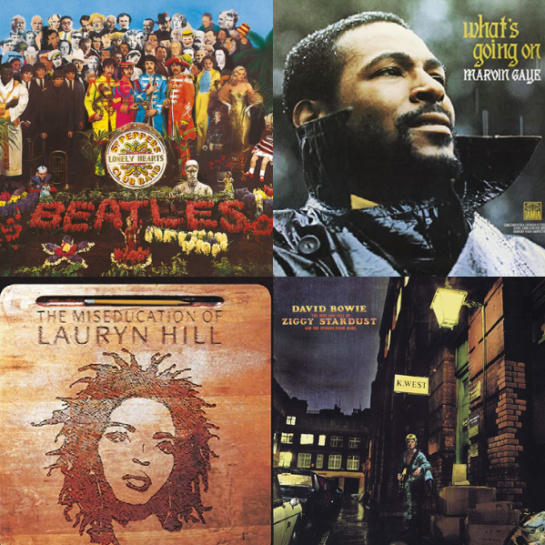 Rolling Stone's Top 75 Albums of All Time