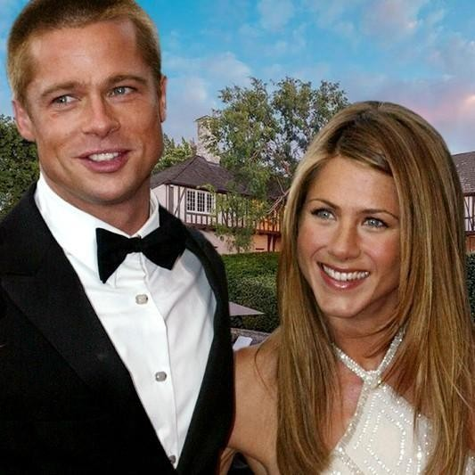 Peek Inside Brad Pitt and Jennifer Aniston's Former Home