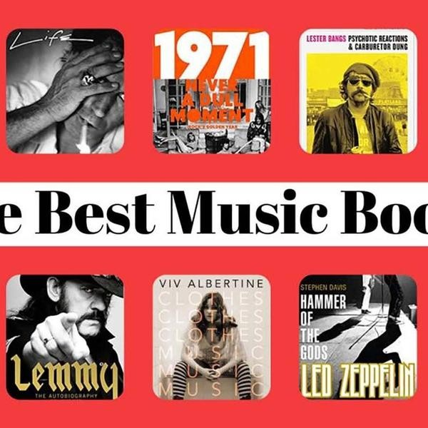 The 40 Best Books About Music Ever Written